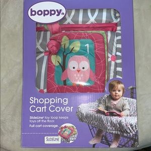 Bopping shopping cart cover